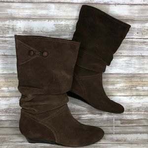 White Mountain Bandit 7.5M Mid Calf Slouch Boot